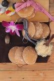 Het snoepje van de palmsuiker van traditioneel voor het koken royalty-vrije stock fotografie