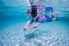 Het snorkelen Stock Foto's