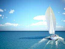 Het snorkelen in ondiep tropisch water Stock Afbeelding