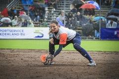Het Softball 2014 van het wereldkampioenschap Stock Foto's