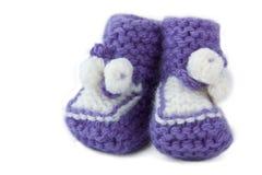 Het sokje van de baby Stock Afbeelding