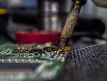 Het solderen Royalty-vrije Stock Foto