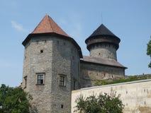 Het Sovinec-Kasteel in Ji?íkov op de Tsjechische Republiek Stock Afbeeldingen