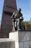 Het sovjet Gedenkteken van de Oorlog, Treptower Park, Berlijn Stock Foto's