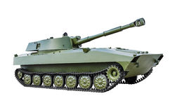 Het sovjet gemotoriseerde kanon 2Ð ¡ 5 van 152 mm Royalty-vrije Stock Fotografie