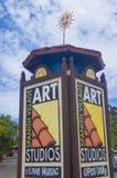 Het Spaanse centrum van de dorpskunst Stock Afbeelding
