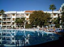 Het Spaanse Hotel van de Toerist royalty-vrije stock afbeeldingen