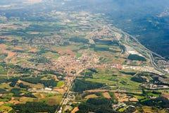 Het Spaanse landschap van het land Royalty-vrije Stock Afbeeldingen
