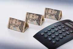 Het sparen omhoog voor Onroerende goederen royalty-vrije stock afbeelding