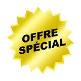 Het Speciale Teken van Offre stock illustratie