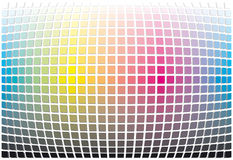 Het spectrum abstracte achtergrond van de kleur Stock Foto