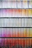 Het spectrum van de het monsterkleur van de verf Royalty-vrije Stock Foto