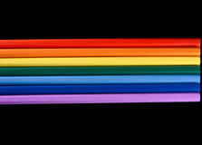 Het spectrum van de regenboog Royalty-vrije Stock Afbeeldingen
