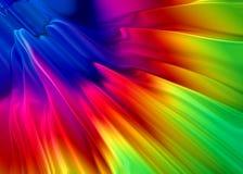 Het spectrum van de stof Stock Foto