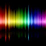 Het spectrum van kleuren stock illustratie