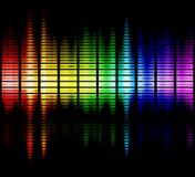 Het spectrum van kleuren Stock Fotografie