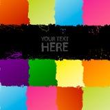 Het spectrumachtergrond van Grunge Stock Foto's