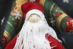 Het speelgoed en de decoratie van Kerstmis Stock Fotografie