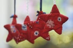 Het speelgoed en de decoratie van Kerstmis Stock Afbeeldingen
