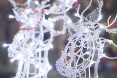 Het speelgoed en de decoratie van Kerstmis Stock Foto