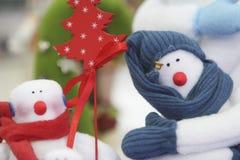 Het speelgoed en de decoratie van Kerstmis Stock Foto's