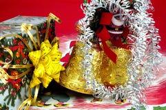 Het speelgoed en de giften van Kerstmis? royalty-vrije stock foto