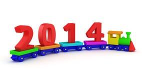Het speelgoed leidt 2014 op Stock Afbeeldingen