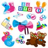 Het speelgoed van de baby Stock Afbeeldingen