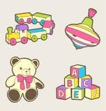 Het speelgoed van de baby Royalty-vrije Stock Foto's