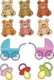 Het speelgoed van de baby Royalty-vrije Stock Fotografie