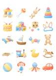 Het speelgoed van de baby Stock Foto's