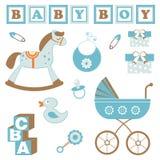 Het speelgoed van de babyjongen Royalty-vrije Stock Afbeelding