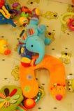 Het speelgoed van de babypluche Royalty-vrije Stock Afbeelding