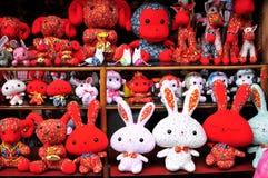 Het speelgoed van de beeldverhaaldoek Royalty-vrije Stock Afbeeldingen