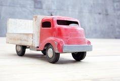 Het speelgoed van de bestelwagen Stock Foto