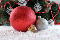 Het speelgoed van de Kerstmisboom Royalty-vrije Stock Fotografie