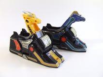 Het speelgoed van de machtsbereden politie Stock Foto's