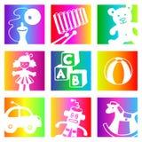 Het speelgoed van de regenboog Royalty-vrije Stock Foto