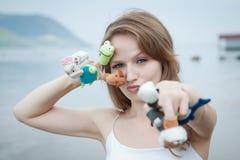 Het Speelgoed van de vinger Stock Fotografie