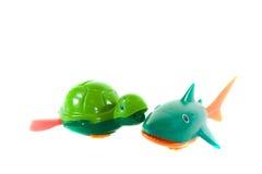 Het speelgoed van het bad of van de pool. stock foto's