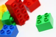 Het speelgoed van het blok stock foto's