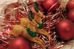 Het speelgoed van het nieuwjaar Stock Afbeelding
