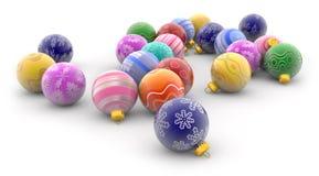 Het speelgoed van het nieuwjaar Royalty-vrije Stock Foto