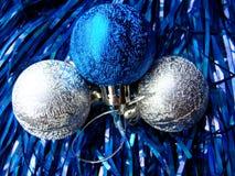 Het speelgoed van het nieuwjaar Royalty-vrije Stock Afbeeldingen