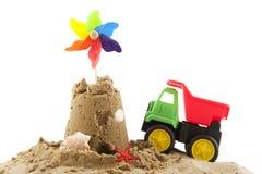 Het speelgoed van het strand Royalty-vrije Stock Foto's