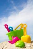 Het speelgoed van het strand Stock Afbeeldingen