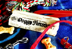 Het speelgoed van honden Royalty-vrije Stock Foto's