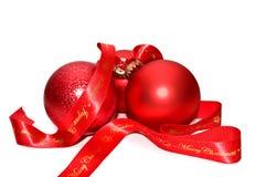Het speelgoed van Kerstmis. Stock Afbeeldingen