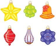 Het speelgoed van Kerstmis Royalty-vrije Stock Fotografie