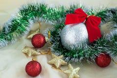 Het speelgoed van Kerstmis Royalty-vrije Stock Foto
